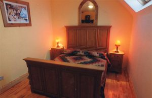 Double bedroom at Whitehouse Tralee Bed and Breakfast Accommodation